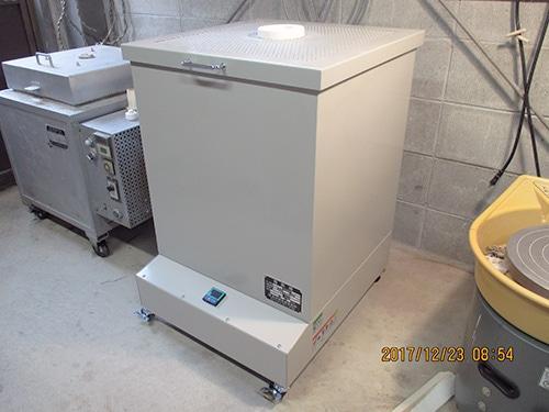 中型電気窯 K-3540C 8ステップマイコン付